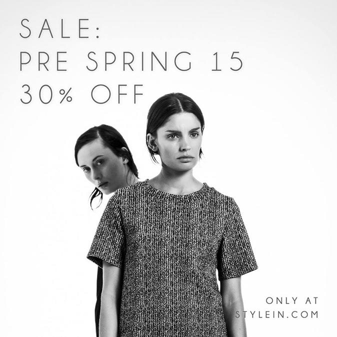 Pre Spring Sale